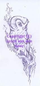Owl tattoo sketch by daisyamnell on DeviantArt