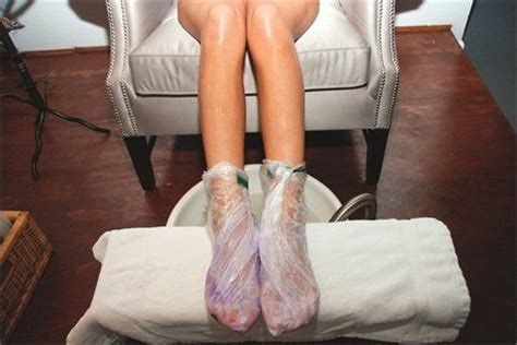 Japanese Pedicure with parafin foot mask (With images