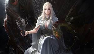 Game of Thrones Daenerys Targaryen Artwork, HD Tv Shows ...