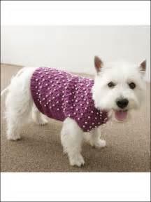 Beaded Crochet Dog Sweater Pattern