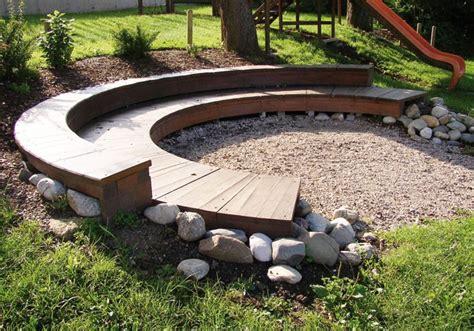 Gartengestaltung Feuerstelle Im Gartengartengestaltung