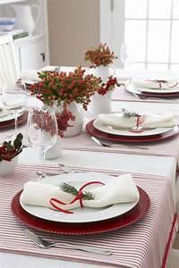 Table De Noel Traditionnelle : d co de table pour no l 2019 101 id es pour toutes les ~ Melissatoandfro.com Idées de Décoration