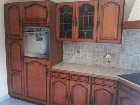 facade cuisine chene meuble cuisine chene massif clasf