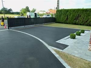 Allée Carrossable En Béton : terrasse beton lisse exterieur all e goudron pinterest ~ Premium-room.com Idées de Décoration