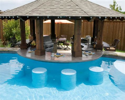 Bar Pool by Pool Other Side Of Bar Be Bar Stools At