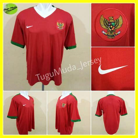 jual jersey timnas indonesia home lambang burung garuda kaos baju pakaian jersy jersi kostum