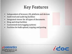 Document management system for Document management system key features