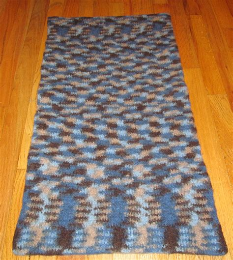 felted wool rug how to make a crochet felted wool rug sakeenah