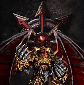 Daemon Prince Of Khorne by seanyuan1994 on DeviantArt