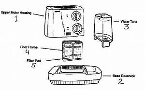 Kenmore Humidifier Parts