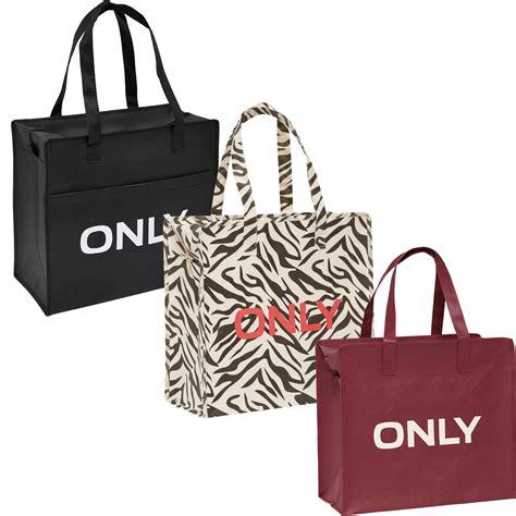 only tasche quot 3er pack shopping bag umh 228 nge shopper einkaufs schulter tasche neu ebay