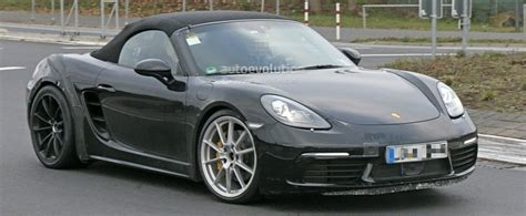 2018 Porsche 718 Boxster Gts Makes Spyshot Debut, To Be A