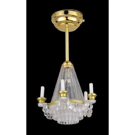 Battery Chandelier by Candle Chandelier Led Plus Battery De309led