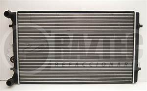 Radiador Jetta A4 Clasico 99-15