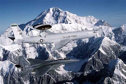 Force Air Wallpapers Awacs Eagle Aircraft Fighter