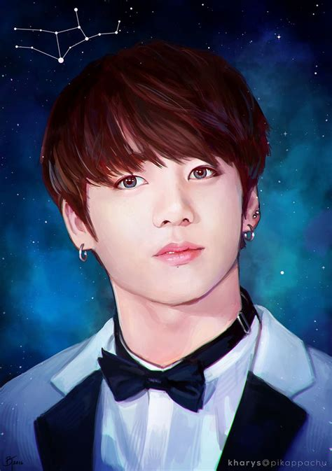 jungkook anime art 39 best images about bts jungkook fanart fan art on