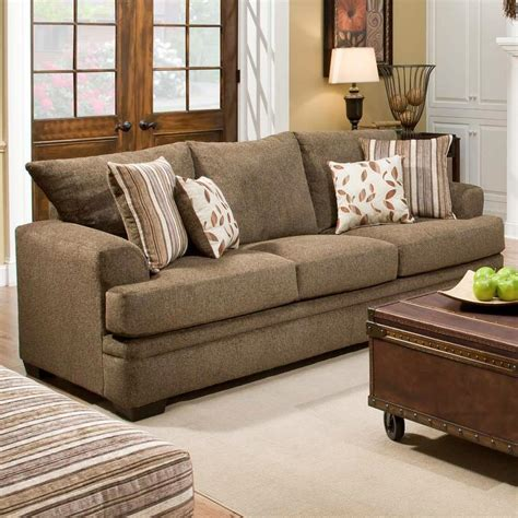 American Furniture Sofa by American Furniture 3650 Casual Sofa With 3 Seats Vandrie