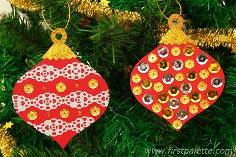 printable christmas tree ornaments craft kids crafts firstpalette com