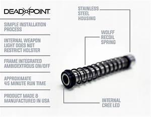 Deadpoint U0026 39 S Glock Guide Rod Weaponlight
