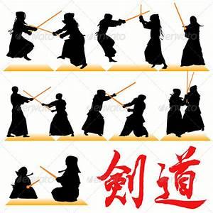 kendo menu template - kendo silhouettes by kaludov graphicriver