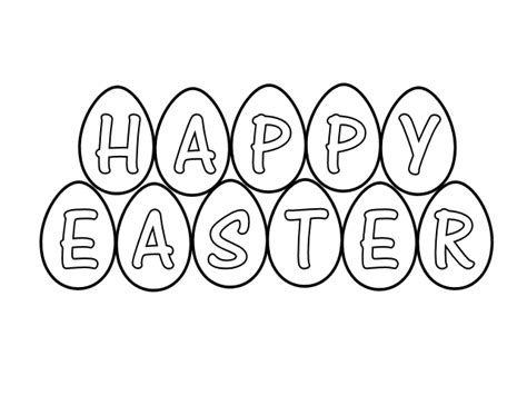 easter border clipart black and white free easter black and white clipart