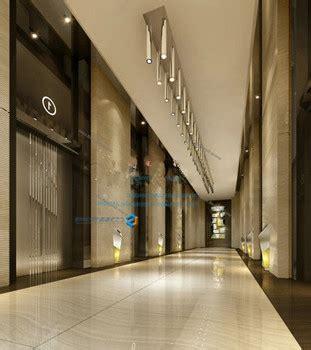 Luxury Hotel Corridor Free 3dmax Model Free Download