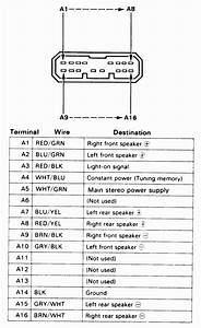 Honda Accord Stereo Installation Wiring Diagram For New Audio