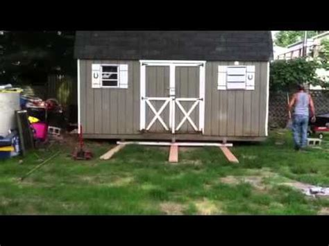 how to move a shed shed moving day
