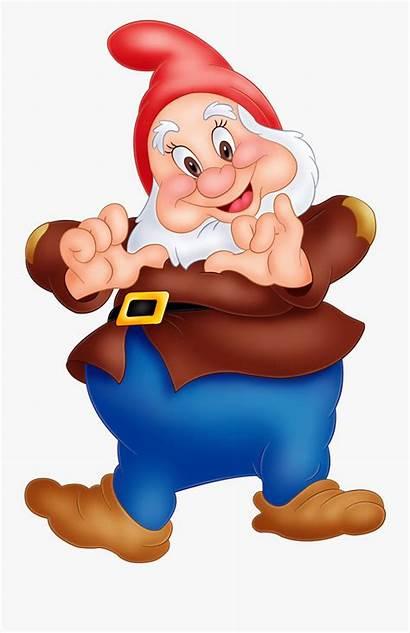 Snow Dwarf Dwarfs Happy Clipart Clipartkey