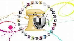 Kitchen Aid Farben : bunter denn je kitchenaid artisan k chenmaschine in 28 farben youtube ~ Watch28wear.com Haus und Dekorationen
