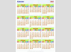 Kalender2021 horizontaal en verticaal