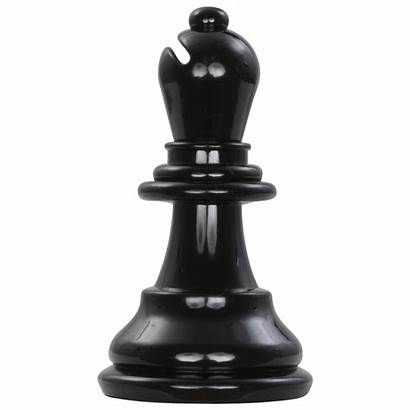 Chess Bishop Piece Plastic Background Giant King