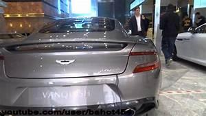 Aston Martin Vanquish Grey 42 - YouTube