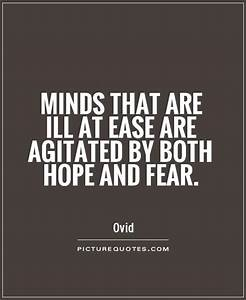 Ease Quotes. Qu... Hope Over Fear Quotes