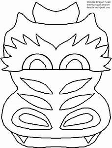 chinese dragon puppet fun family craftsfun family crafts With chinese dragon face template