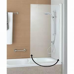 Pare Douche Pour Baignoire : pare douche en verre paredouche et espace bain paroi ~ Premium-room.com Idées de Décoration