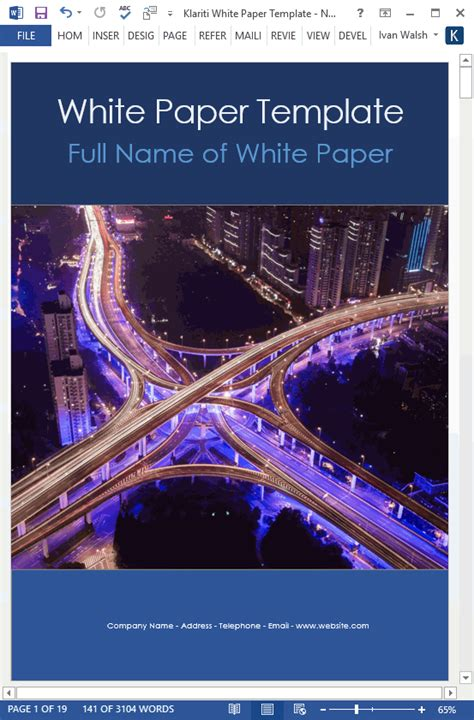 structure  bb white paper