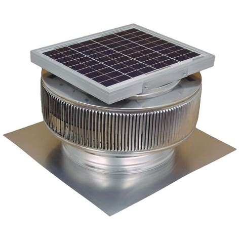 chimney exhaust fans cost active ventilation 740 cfm mill finish 10 watt solar