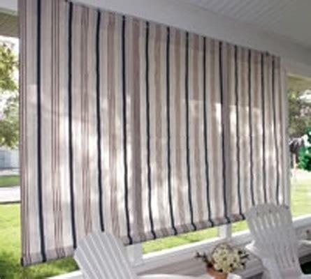 outdoor window shades window treatment ideas for