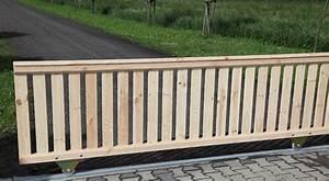 Gartentore Aus Holz Bilder : gel nder schiebetor ab 159eur holz gartentor stabil mit handlauf ~ Michelbontemps.com Haus und Dekorationen