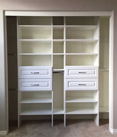 Cabinets And Closets by Adjustable Closet Cabinets Quality Custom Made Closet