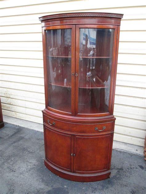 mahogany corner cabinets 53191 antique mahogany bow glass corner china cabinet 3950