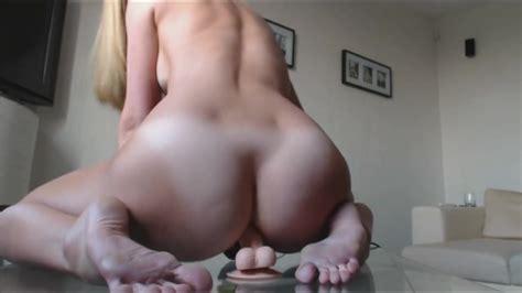 Sexy Blonde Anal Dildo Ride ThisVid Com