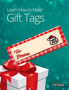 How to make your own gift tags curiouscom for How to print your own labels