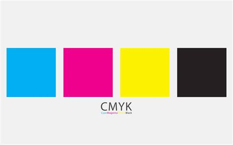 cmyk colors what does cmyk stand for
