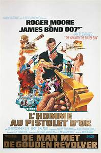 The Man with the Golden Gun 1974 Belgian Poster ...