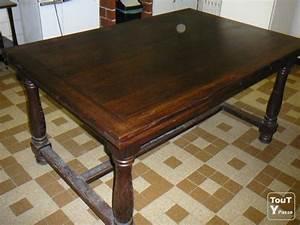 Table En Bois Massif Ancienne : vend table ancienne en bois massif avec deux rallonges saint alban 31140 ~ Teatrodelosmanantiales.com Idées de Décoration