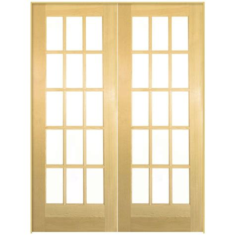 interior doors for sale home depot masonite 72 in x 80 in 15 lite solid smooth