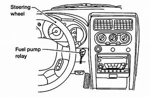 1998 Toyota Camry Fuel Pump Relay Location