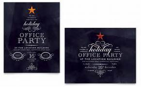 Office Holiday Party Poster Template Word Publisher Free Christmas Party Invitation Template Invitations 15 Party Invitations Excel PDF Formats Gallery For Office Party Invitation